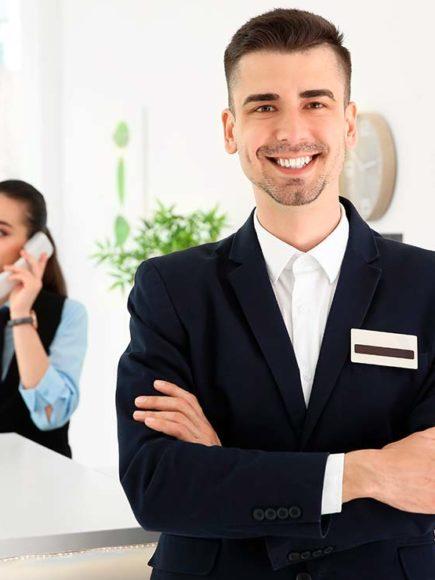 Recepcionista de Hoteles + Jefe de Recepción (Doble Titulación)